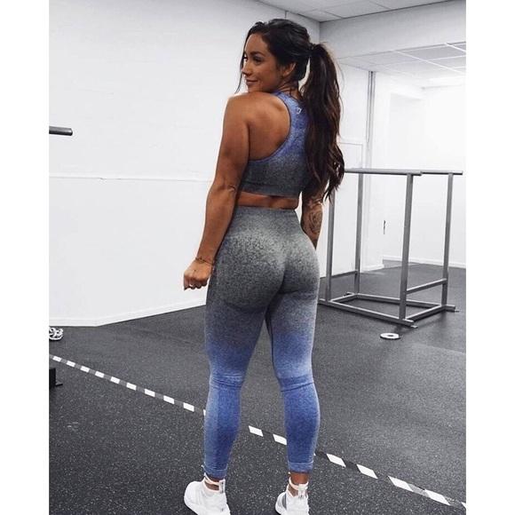 cbfc166edf3c54 Gymshark Pants | Ombre Seamless Leggings | Poshmark